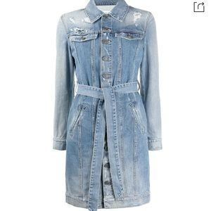 Givenchy Denim trench jacket / dress